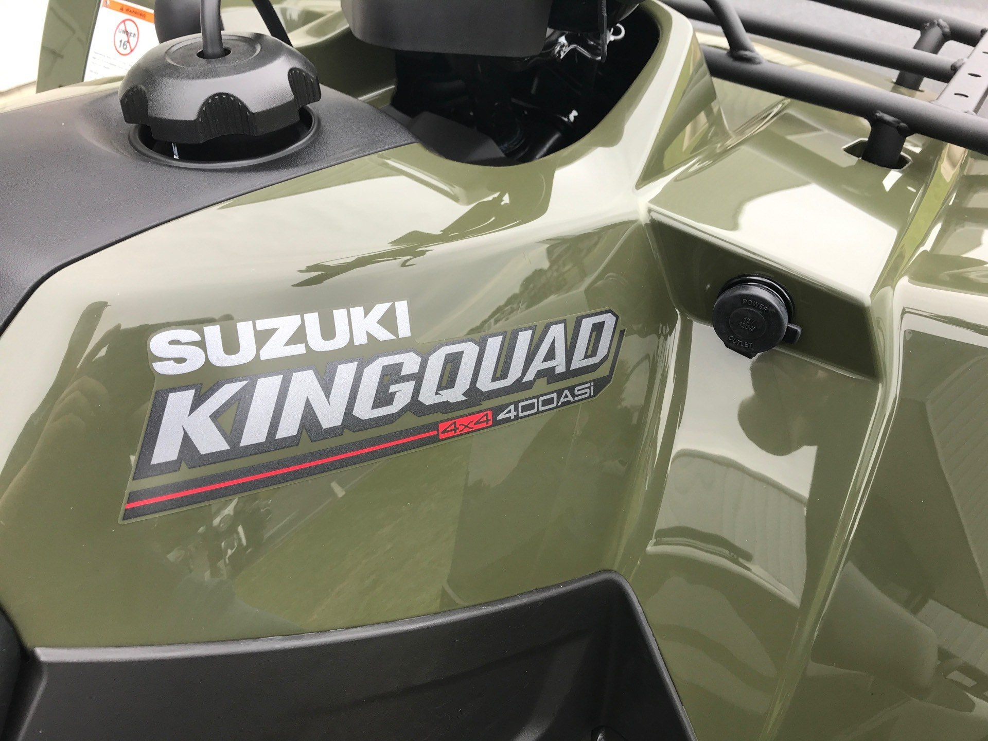 2020 Suzuki KingQuad 400ASi in Greenville, North Carolina - Photo 16