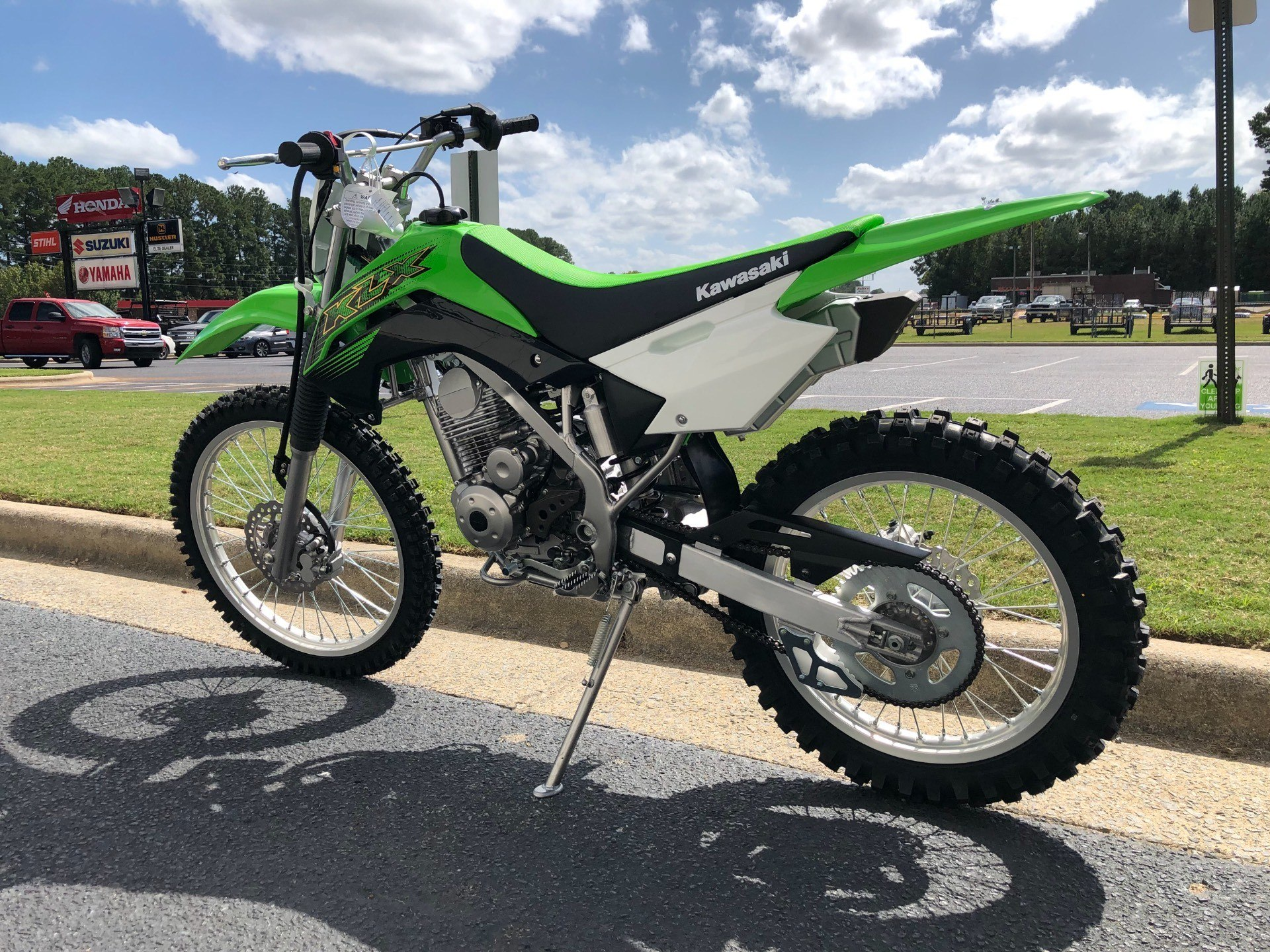 2020 Kawasaki KLX 140G in Greenville, North Carolina - Photo 8