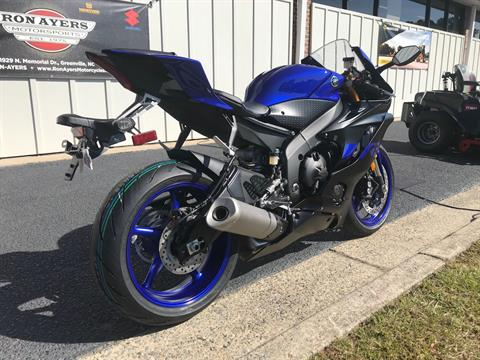 2019 Yamaha YZF-R6 in Greenville, North Carolina