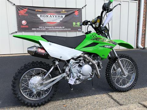 2020 Kawasaki KLX 110 in Greenville, North Carolina - Photo 12