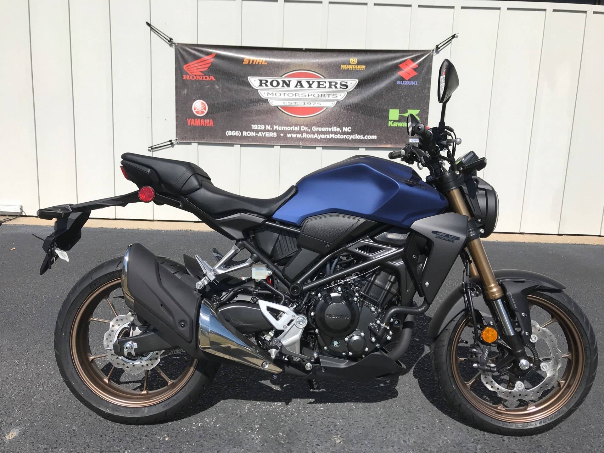 2021 Honda CB300R ABS in Greenville, North Carolina - Photo 1