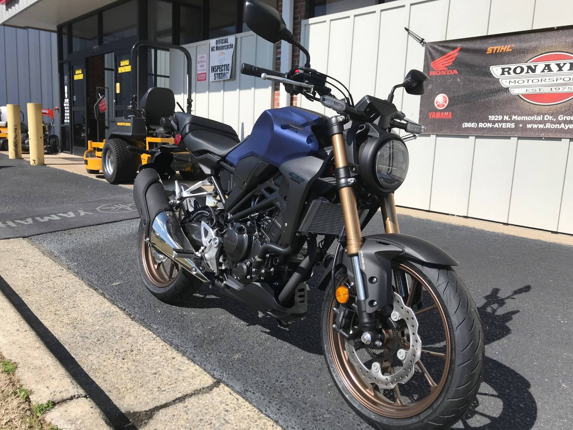 2021 Honda CB300R ABS in Greenville, North Carolina - Photo 3