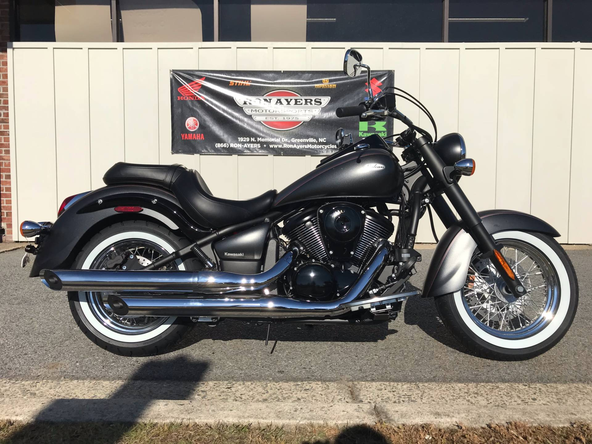 New 2018 Kawasaki Vulcan 900 Classic Motorcycles in Greenville NC