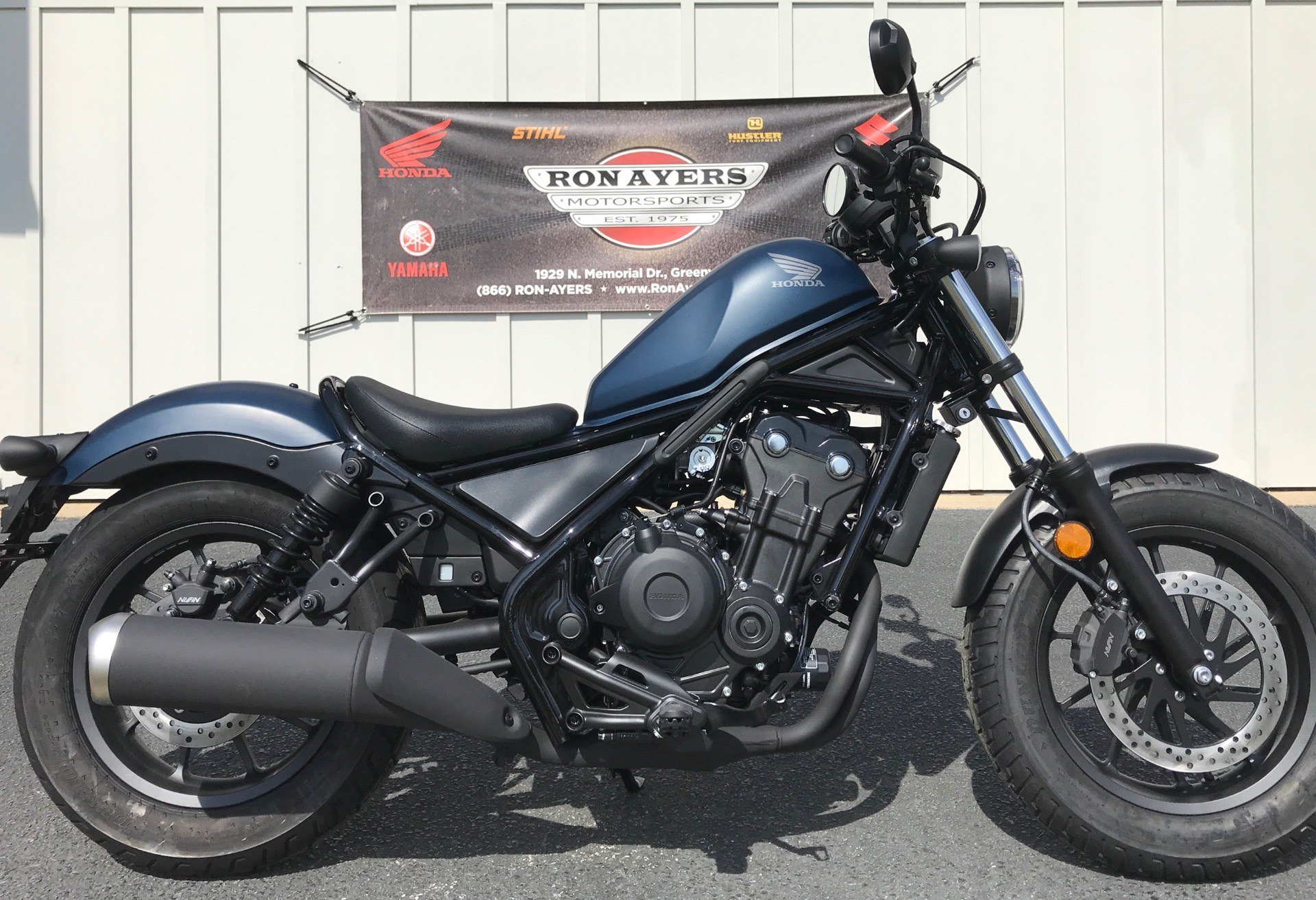 2020 Honda Rebel 500 in Greenville, North Carolina - Photo 1