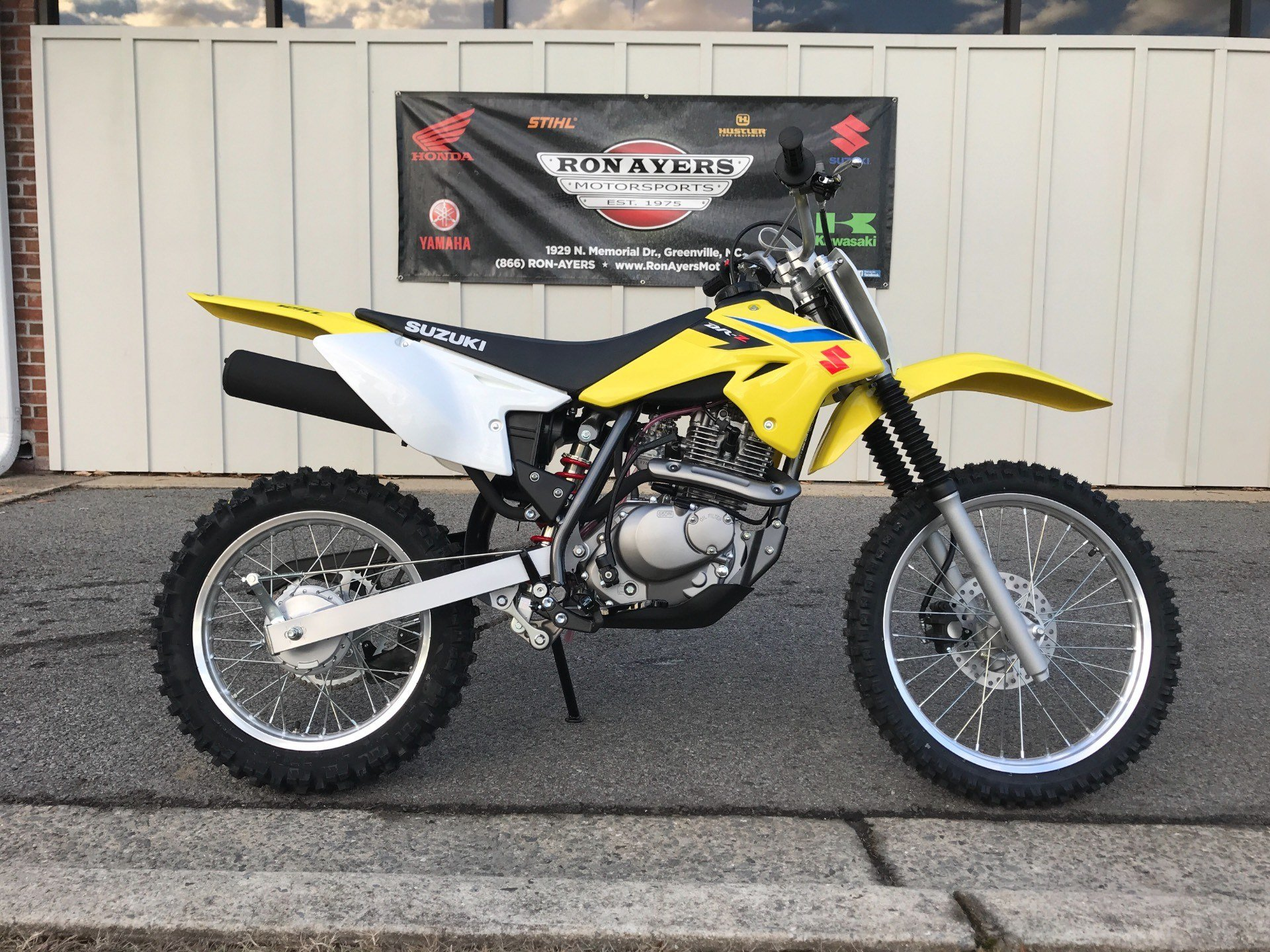 2018 Suzuki DR-Z125L in Greenville, North Carolina