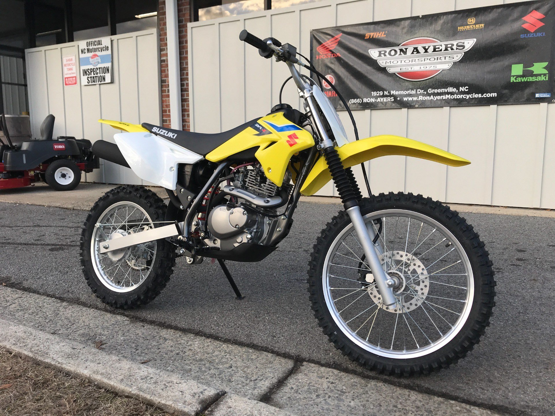 2018 Suzuki DR-Z125L in Greenville, North Carolina - Photo 2