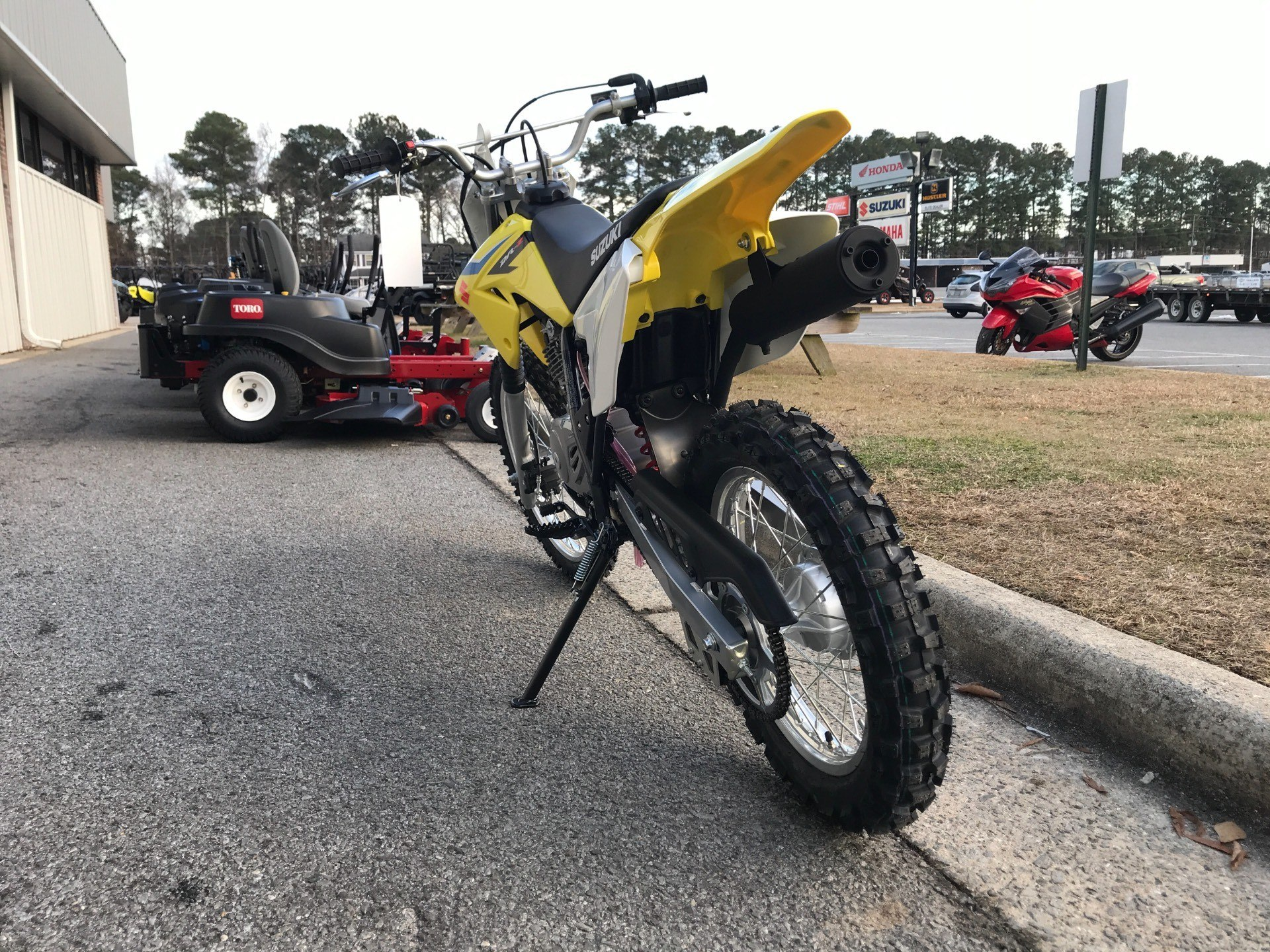 2018 Suzuki DR-Z125L in Greenville, North Carolina - Photo 9