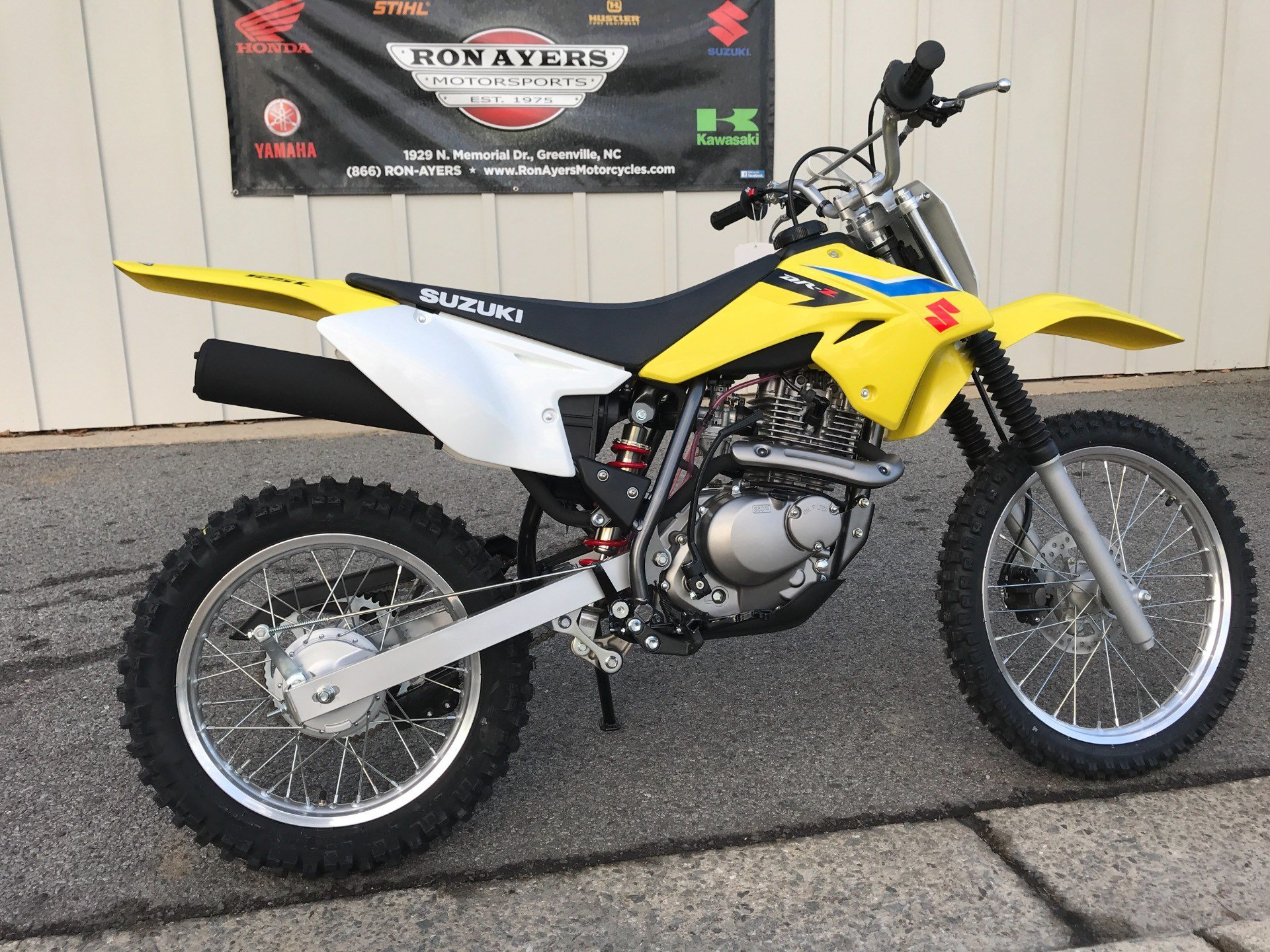2018 Suzuki DR-Z125L in Greenville, North Carolina - Photo 12