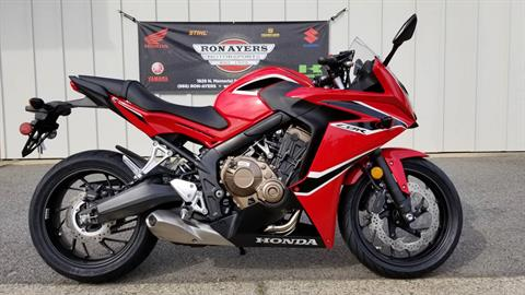 2018 Honda CBR650F in Greenville, North Carolina