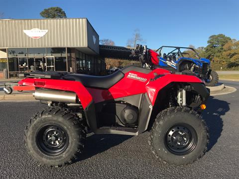 2021 Suzuki KingQuad 750AXi Power Steering in Greenville, North Carolina