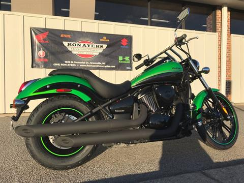 2018 Kawasaki Vulcan 900 Custom in Greenville, North Carolina