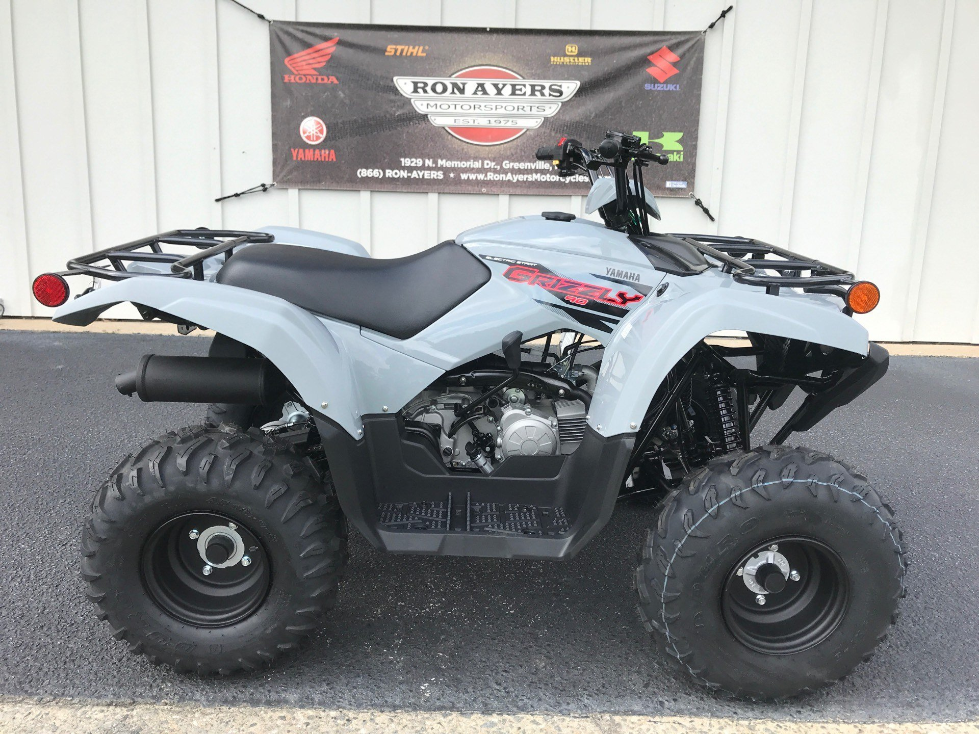 2021 Yamaha Grizzly 90 in Greenville, North Carolina - Photo 1