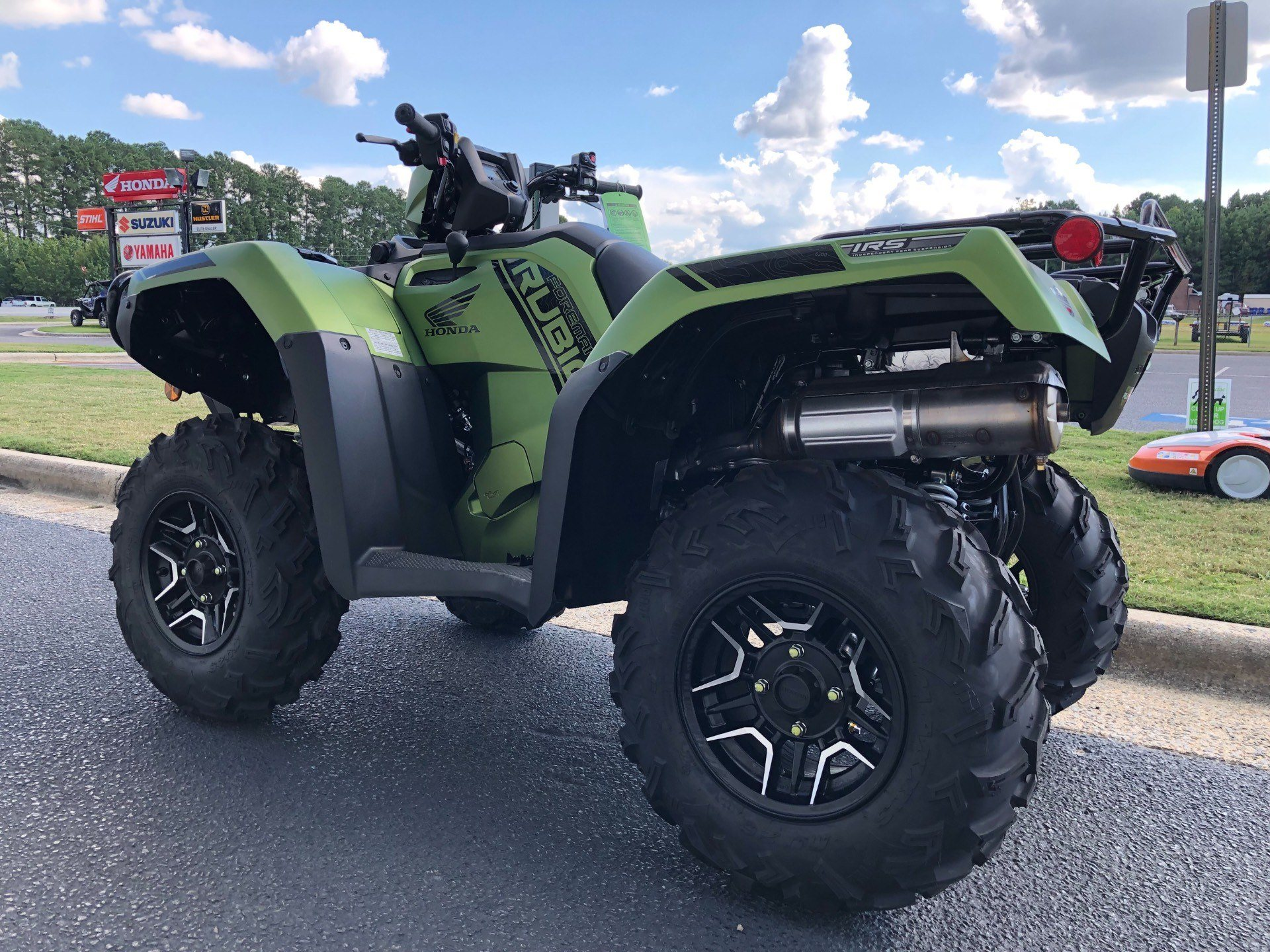 2020 Honda FourTrax Foreman Rubicon 4x4 Automatic DCT EPS Deluxe in Greenville, North Carolina - Photo 8