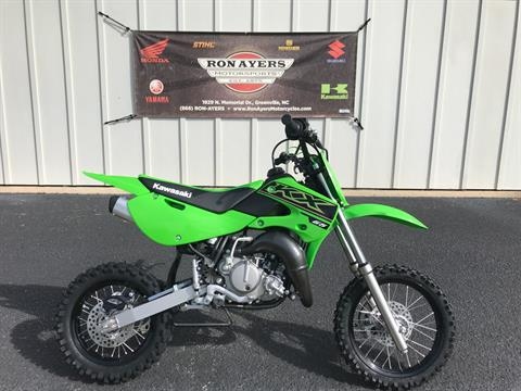2021 Kawasaki KX 65 in Greenville, North Carolina