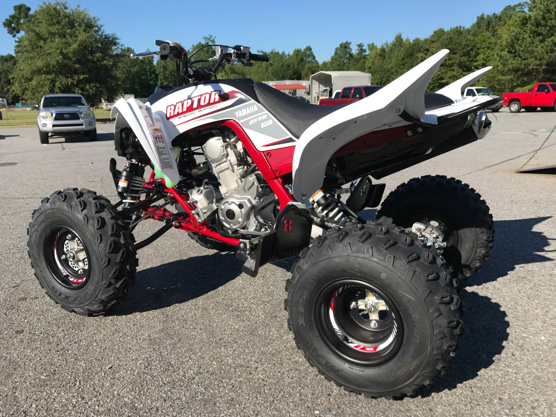 2018 Yamaha Raptor 700R SE in Greenville, North Carolina