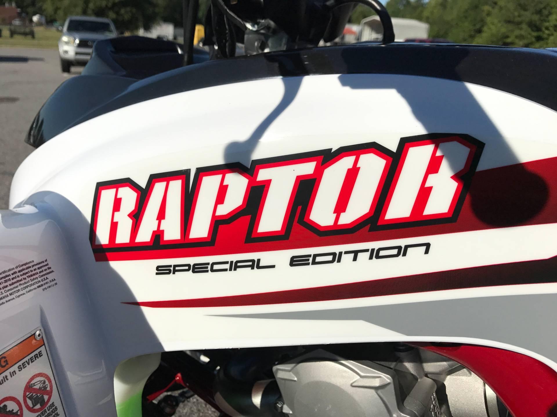 2018 Yamaha Raptor 700R SE in Greenville, North Carolina