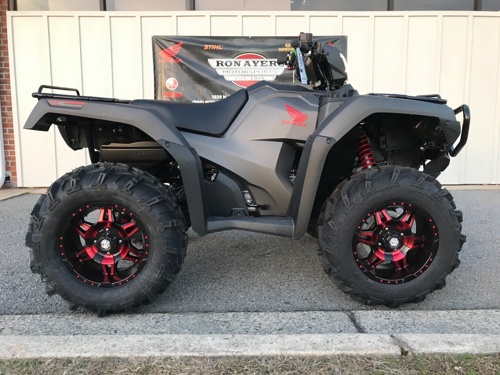 Superior 2018 Honda FourTrax Foreman Rubicon 4x4 Automatic DCT EPS Deluxe In  Greenville, North Carolina