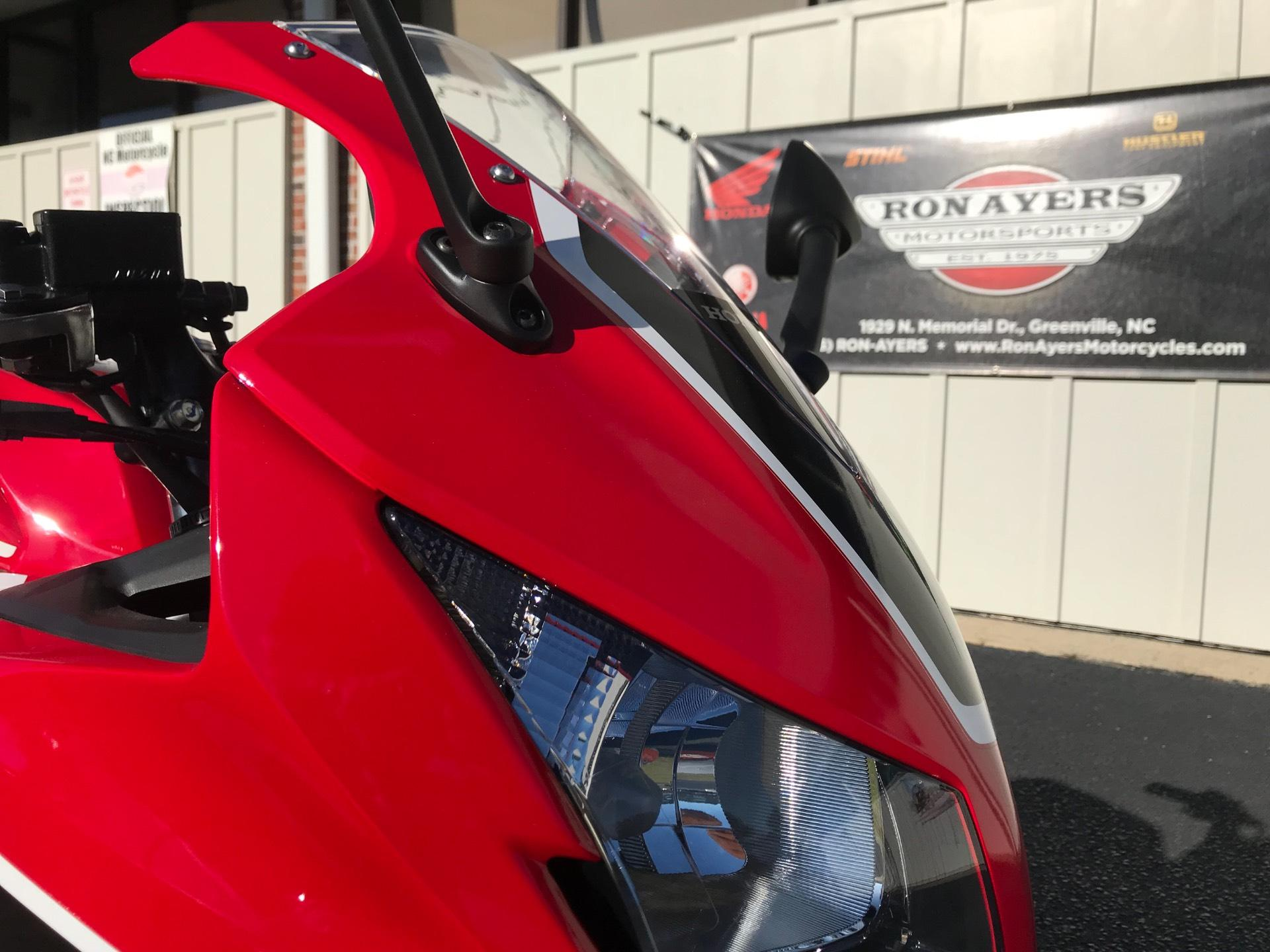 2018 Honda CBR300R in Greenville, North Carolina