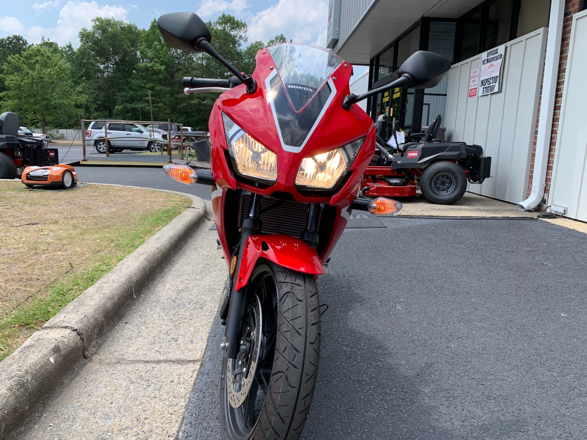 2018 Honda CBR300R in Greenville, North Carolina - Photo 4