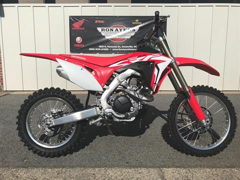 2018 Honda CRF450RX in Greenville, North Carolina - Photo 1