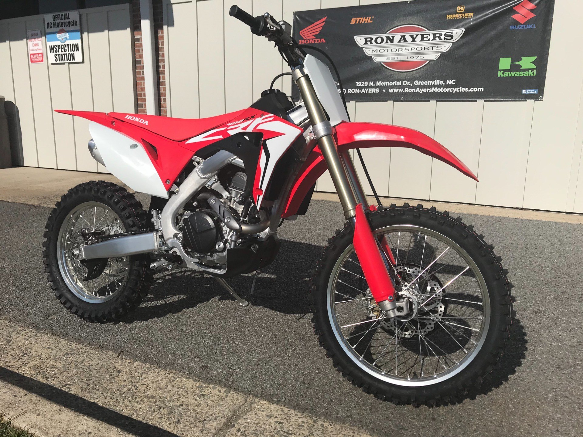 2018 Honda CRF450RX in Greenville, North Carolina - Photo 2