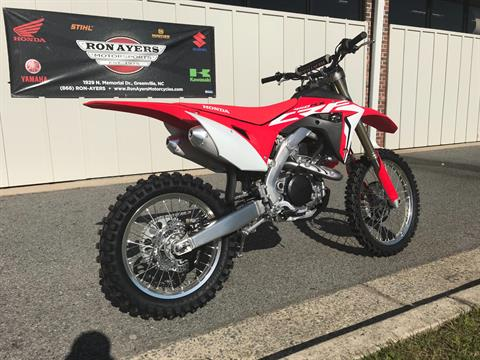 2018 Honda CRF450RX in Greenville, North Carolina