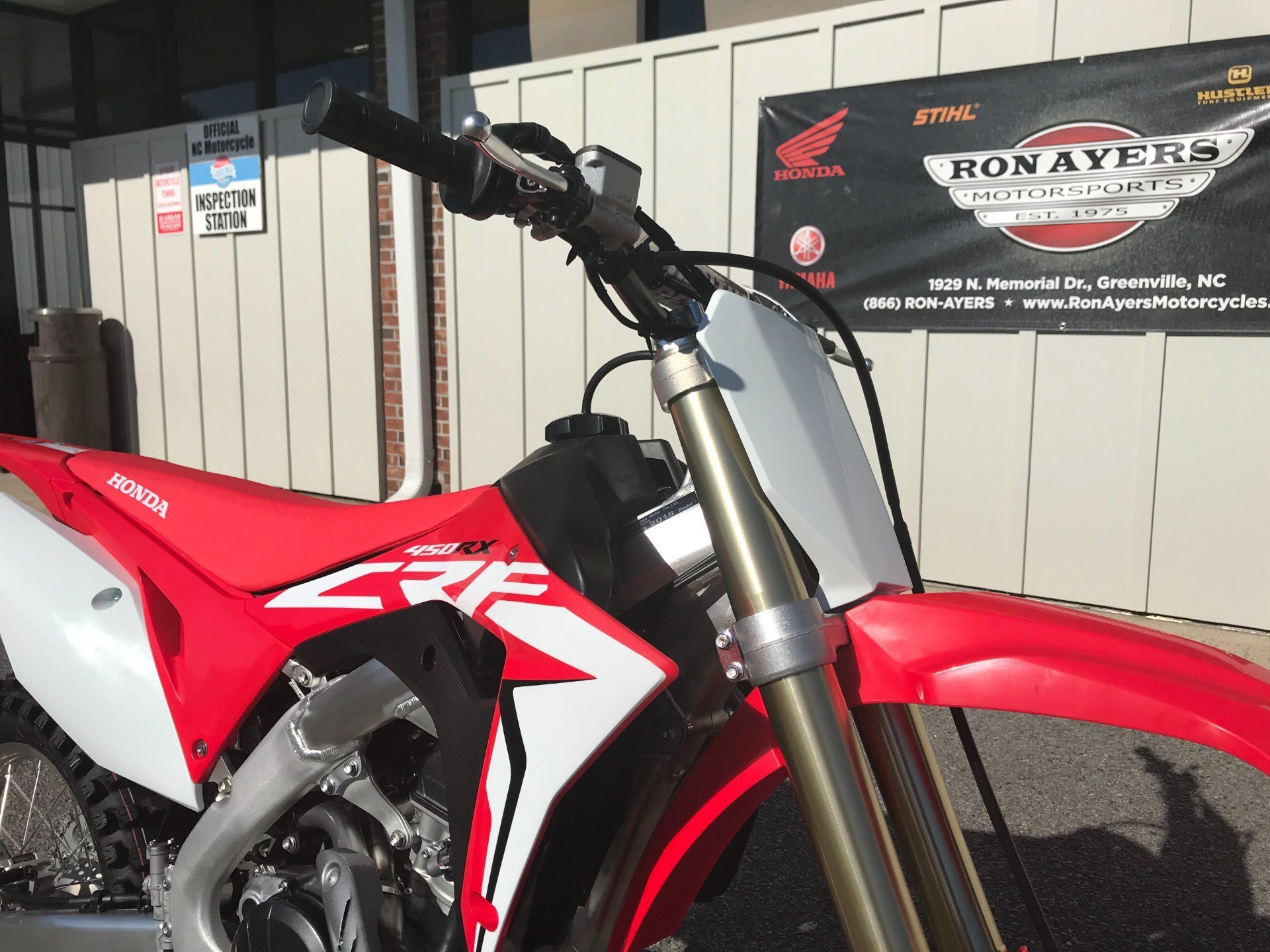 2018 Honda CRF450RX in Greenville, North Carolina - Photo 12