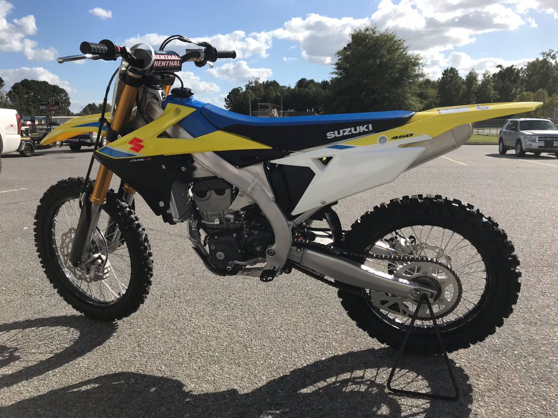 2018 Suzuki RM-Z450 in Greenville, North Carolina - Photo 3