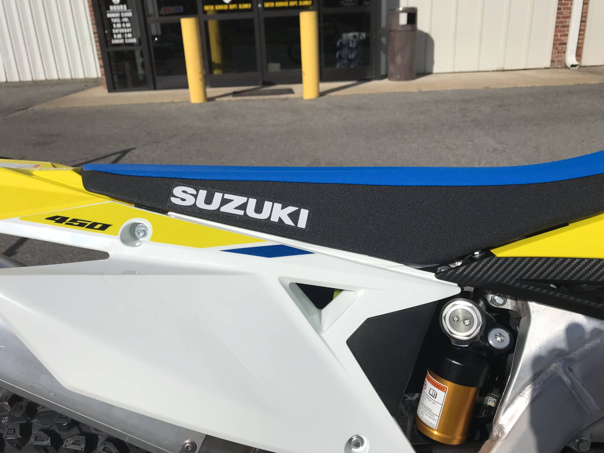 2018 Suzuki RM-Z450 in Greenville, North Carolina - Photo 12