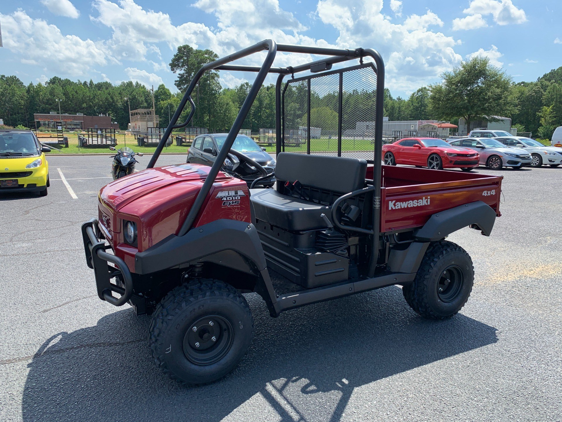 2020 Kawasaki Mule 4010 4x4 in Greenville, North Carolina - Photo 6