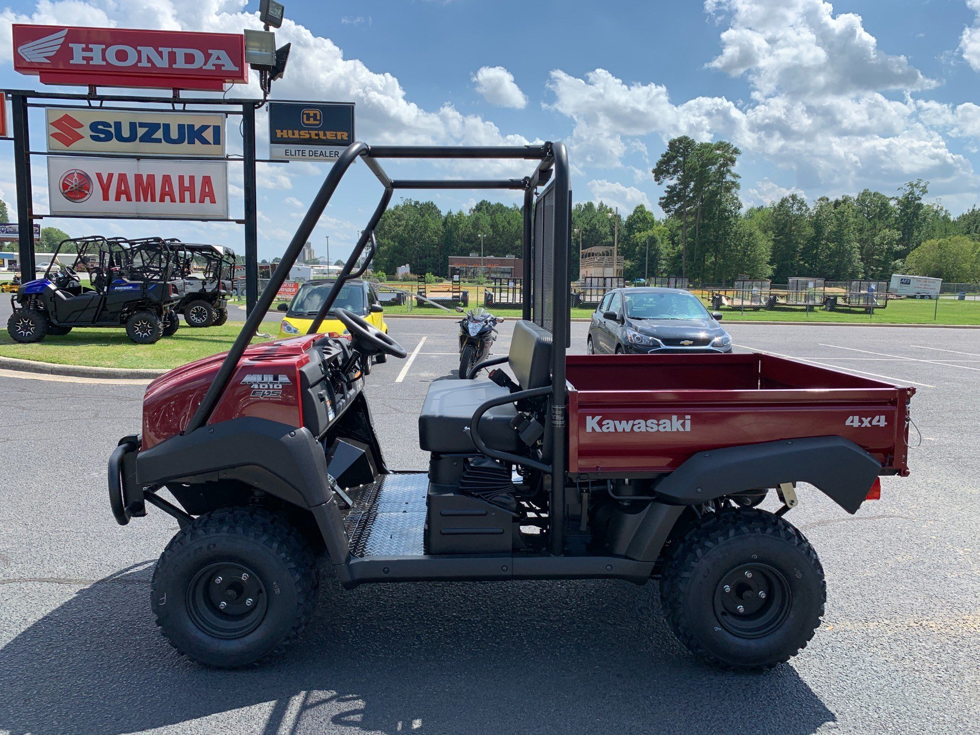 2020 Kawasaki Mule 4010 4x4 in Greenville, North Carolina - Photo 7