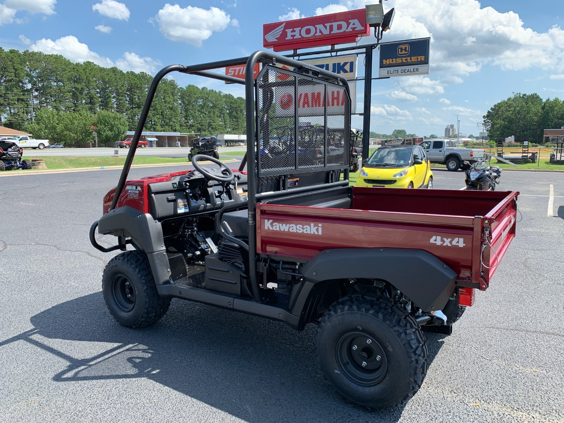 2020 Kawasaki Mule 4010 4x4 in Greenville, North Carolina - Photo 8