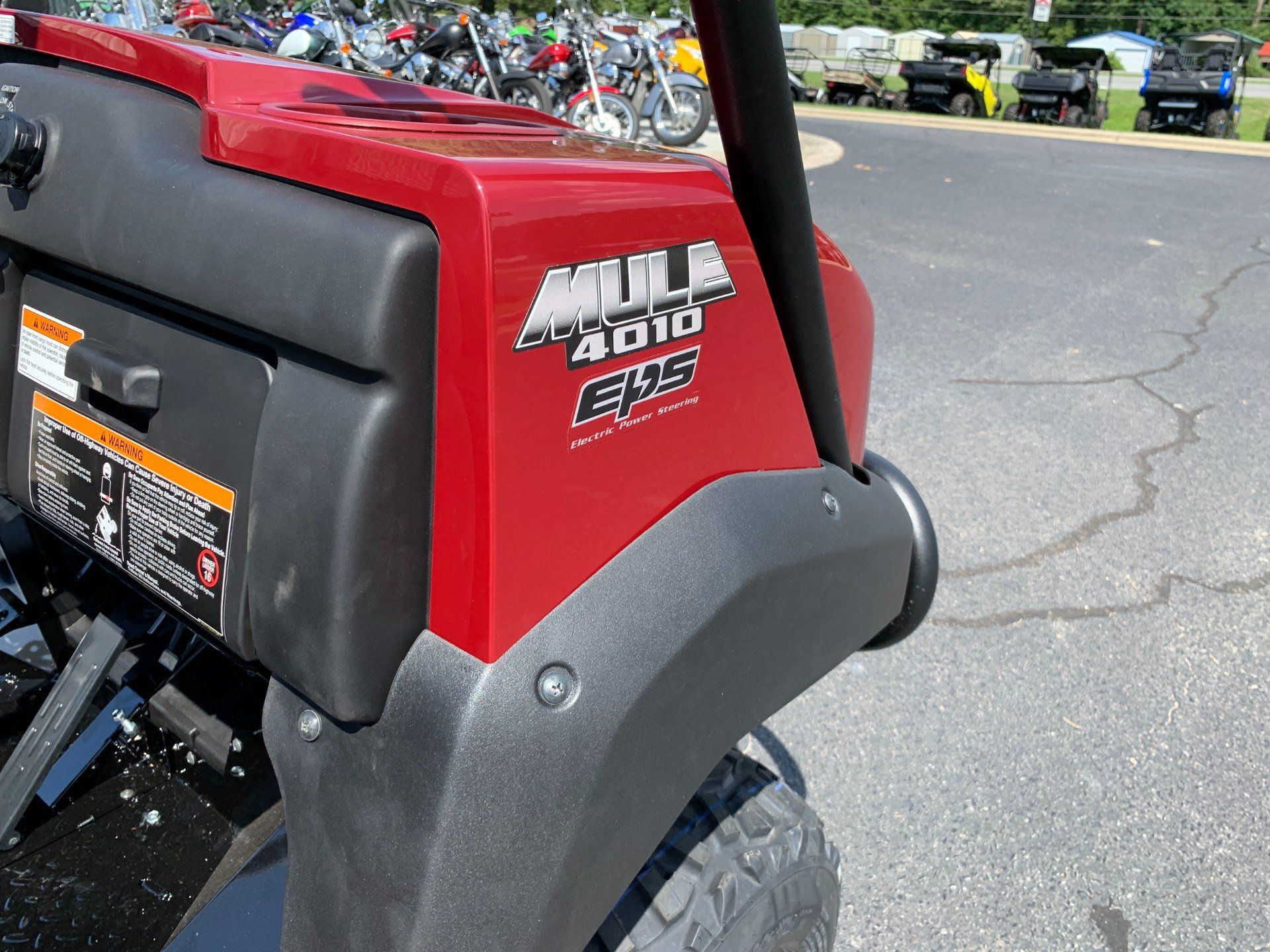2020 Kawasaki Mule 4010 4x4 in Greenville, North Carolina - Photo 14