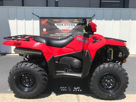 2020 Suzuki KingQuad 750AXi in Greenville, North Carolina