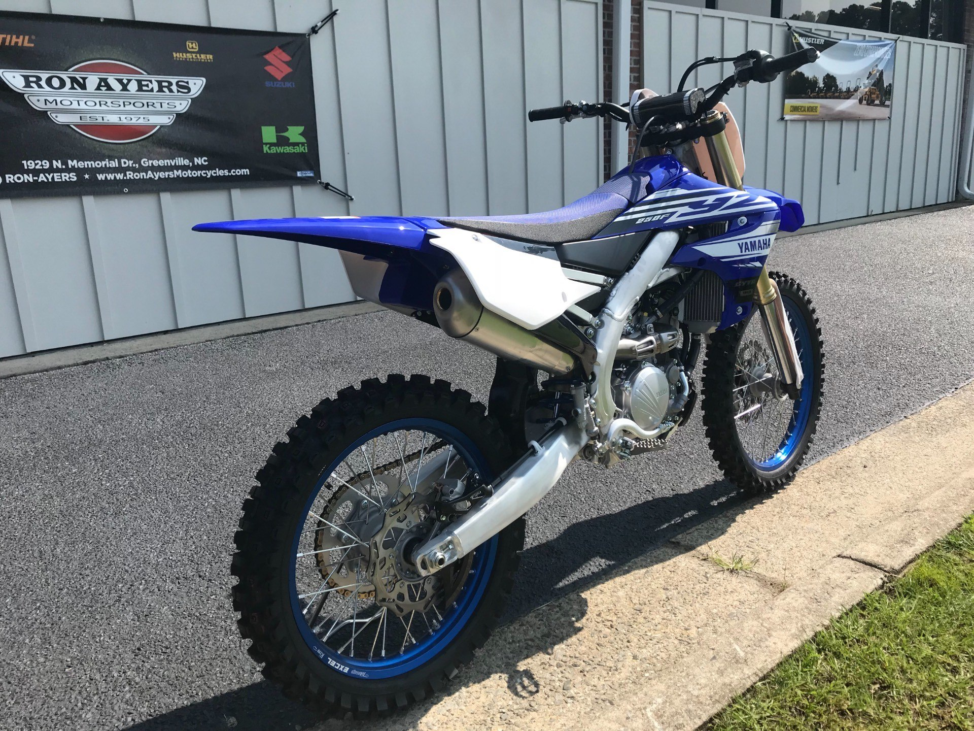 new 2019 yamaha yz250f motorcycles in greenville nc. Black Bedroom Furniture Sets. Home Design Ideas