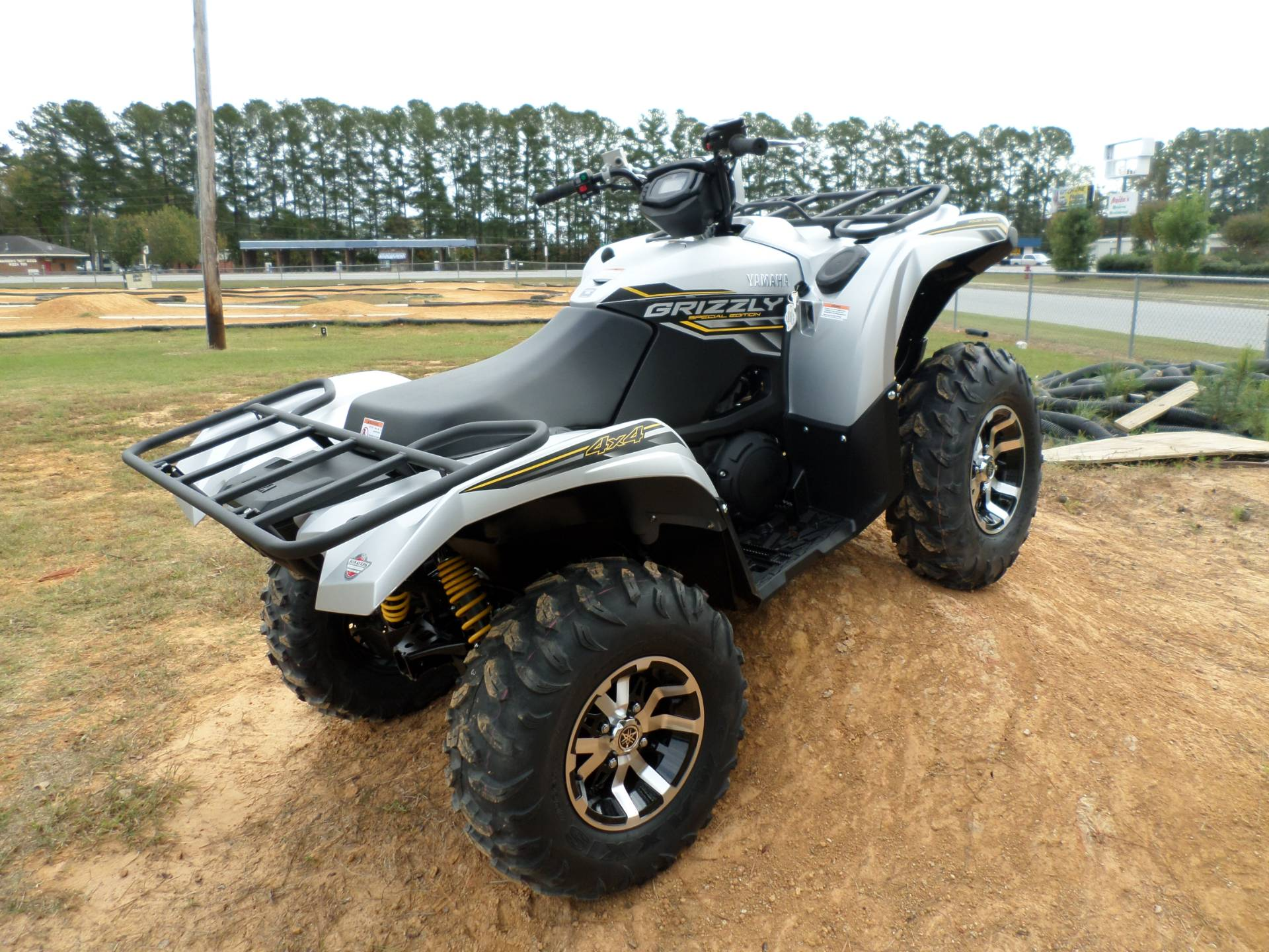 2017 Yamaha Grizzly EPS SE in Greenville, North Carolina