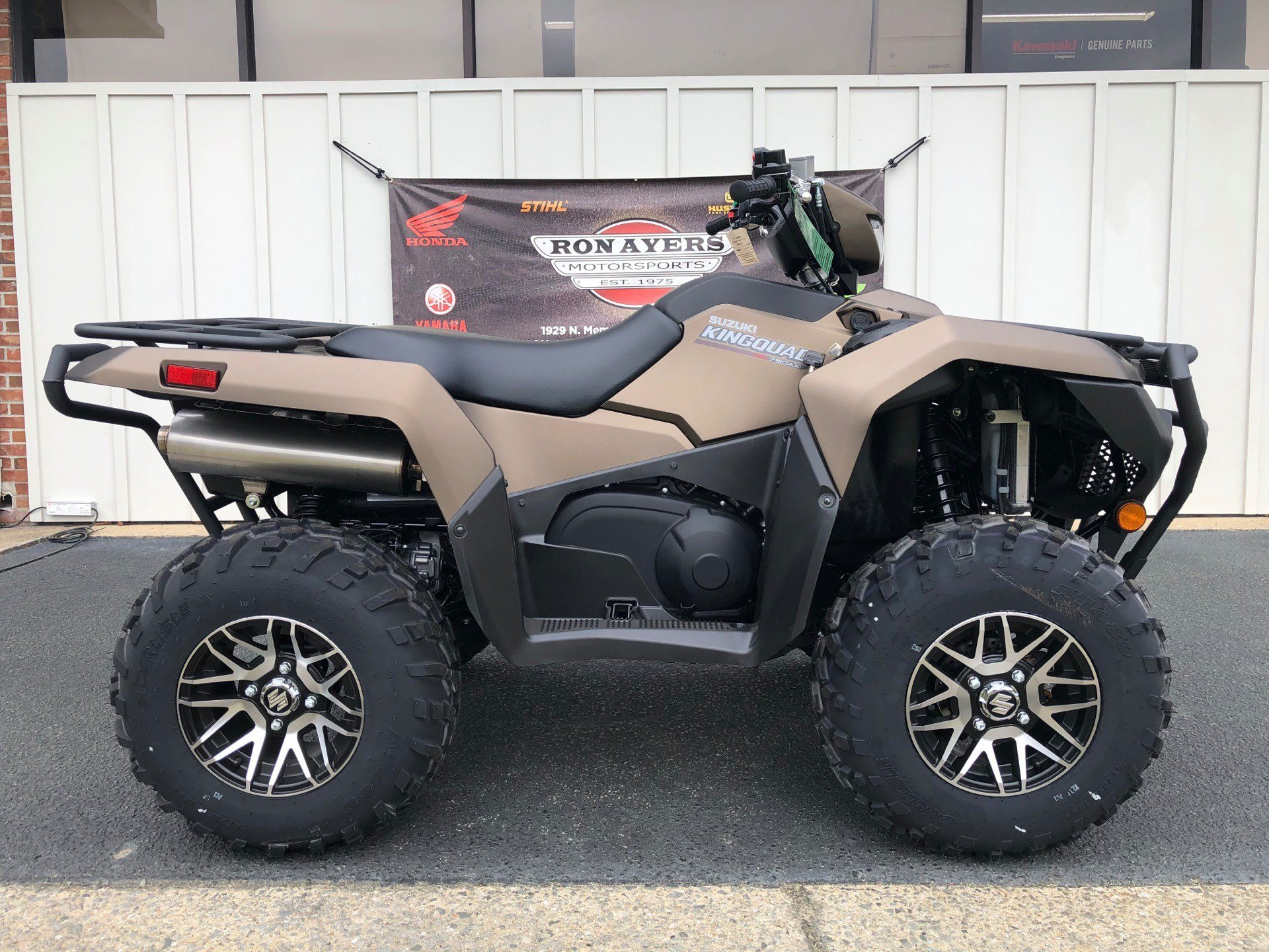 2020 Suzuki KingQuad 750AXi Power Steering SE+ with Rugged Package in Greenville, North Carolina - Photo 1