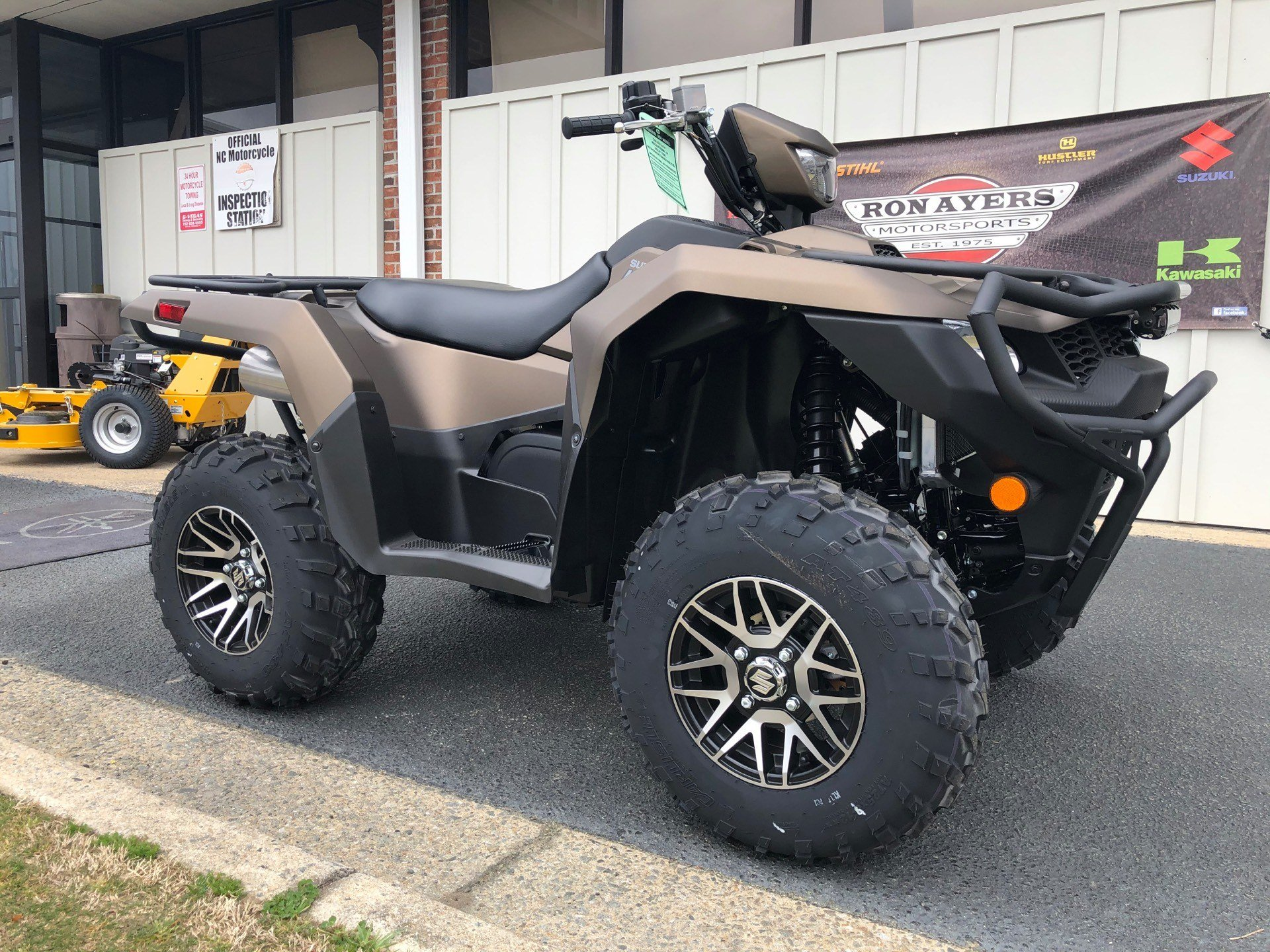 2020 Suzuki KingQuad 750AXi Power Steering SE+ with Rugged Package in Greenville, North Carolina - Photo 2