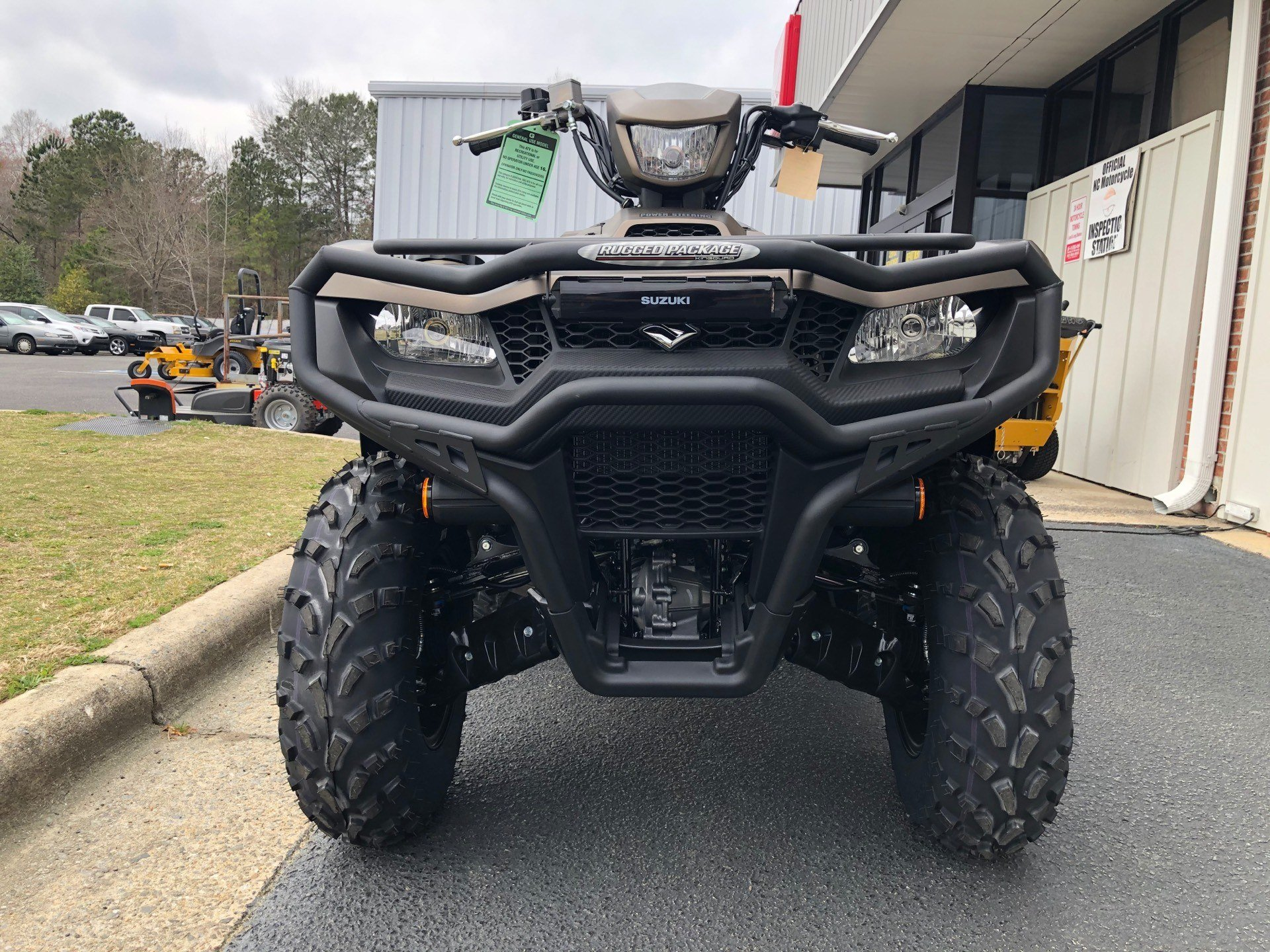 2020 Suzuki KingQuad 750AXi Power Steering SE+ with Rugged Package in Greenville, North Carolina - Photo 4