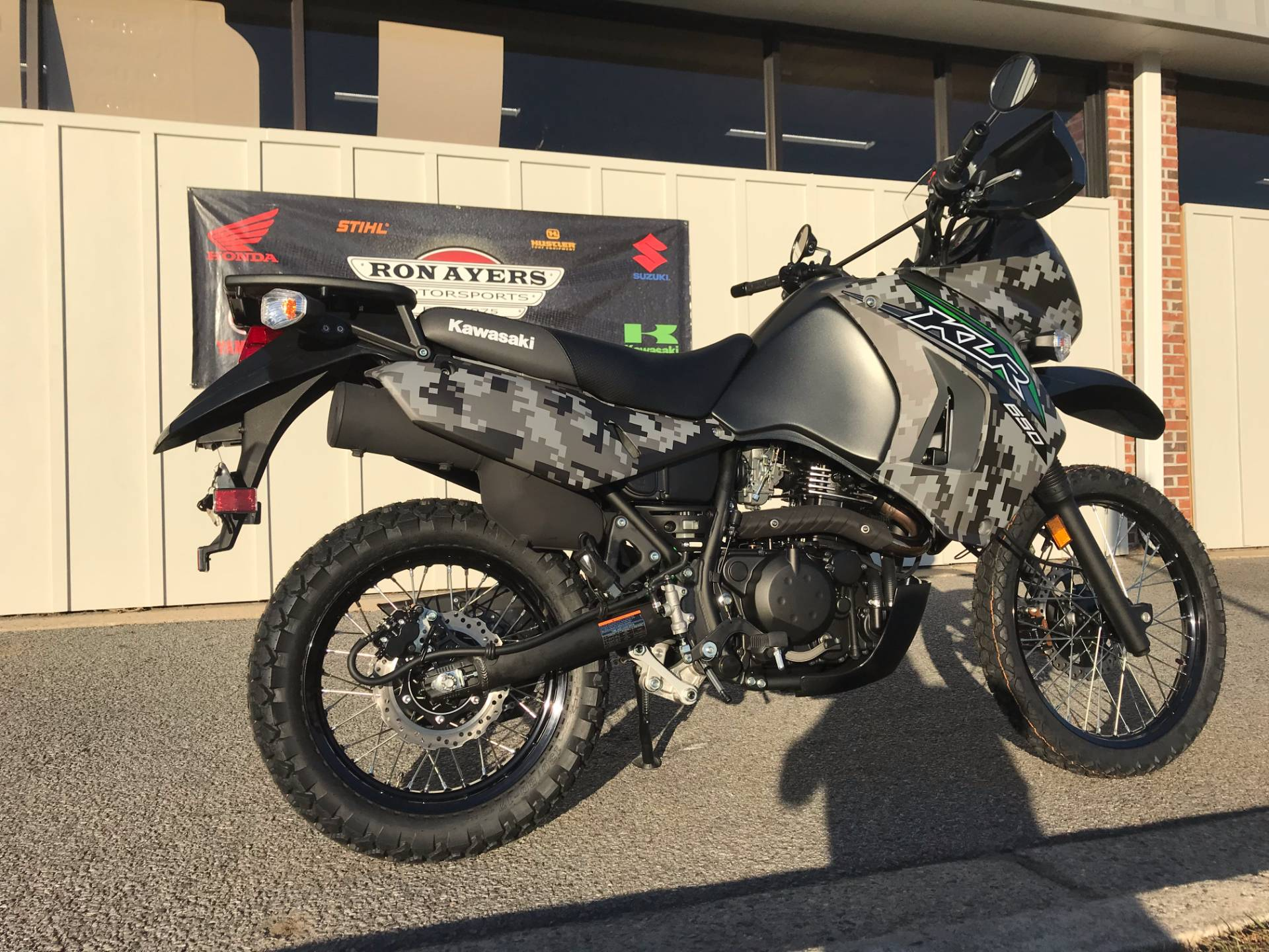 2018 Kawasaki KLR 650 Camo in Greenville, North Carolina