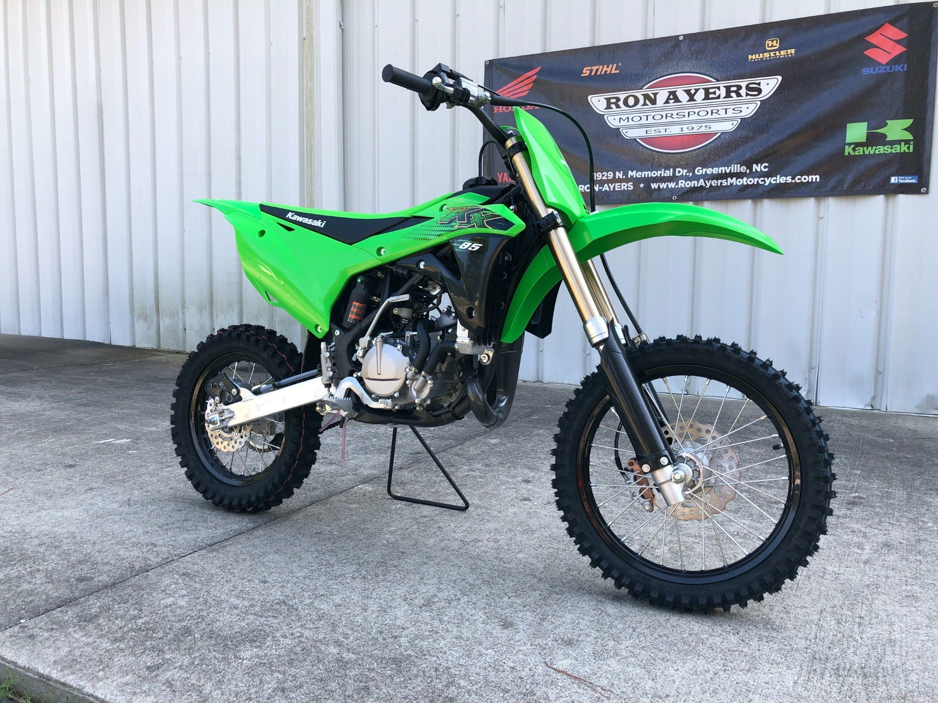 2020 Kawasaki KX 85 in Greenville, North Carolina - Photo 2