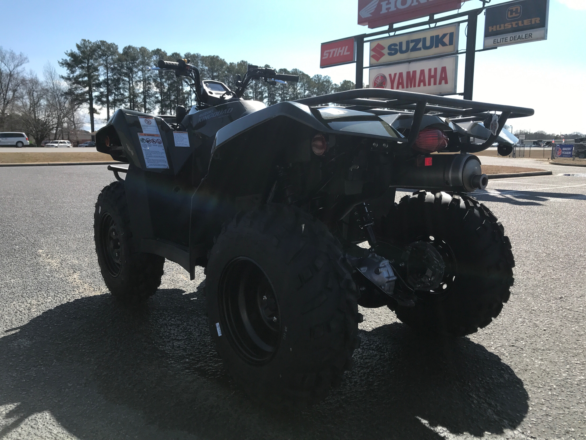 2021 Suzuki KingQuad 400ASi in Greenville, North Carolina - Photo 6