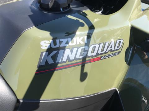 2021 Suzuki KingQuad 400ASi in Greenville, North Carolina - Photo 12