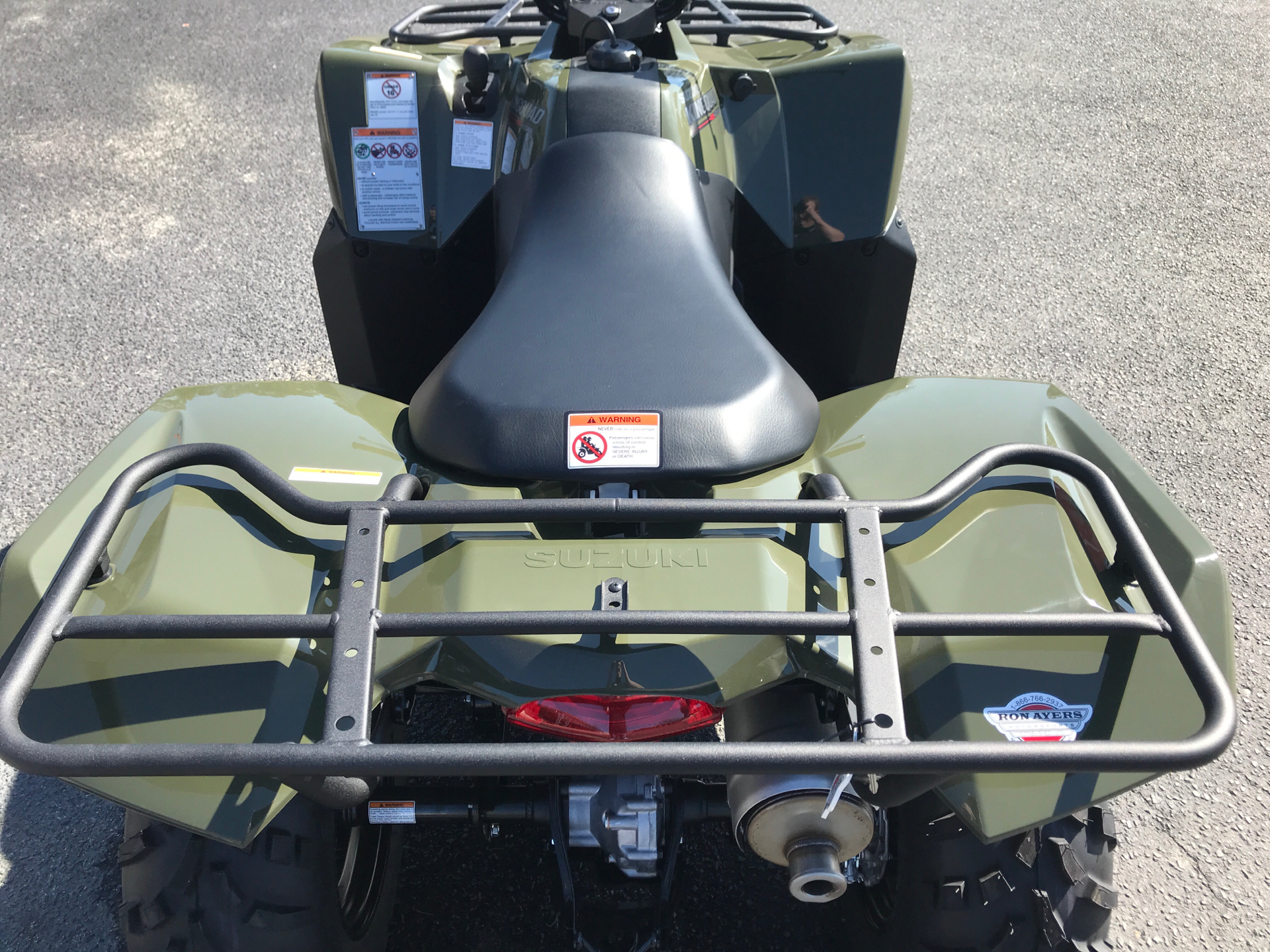 2021 Suzuki KingQuad 400ASi in Greenville, North Carolina - Photo 15