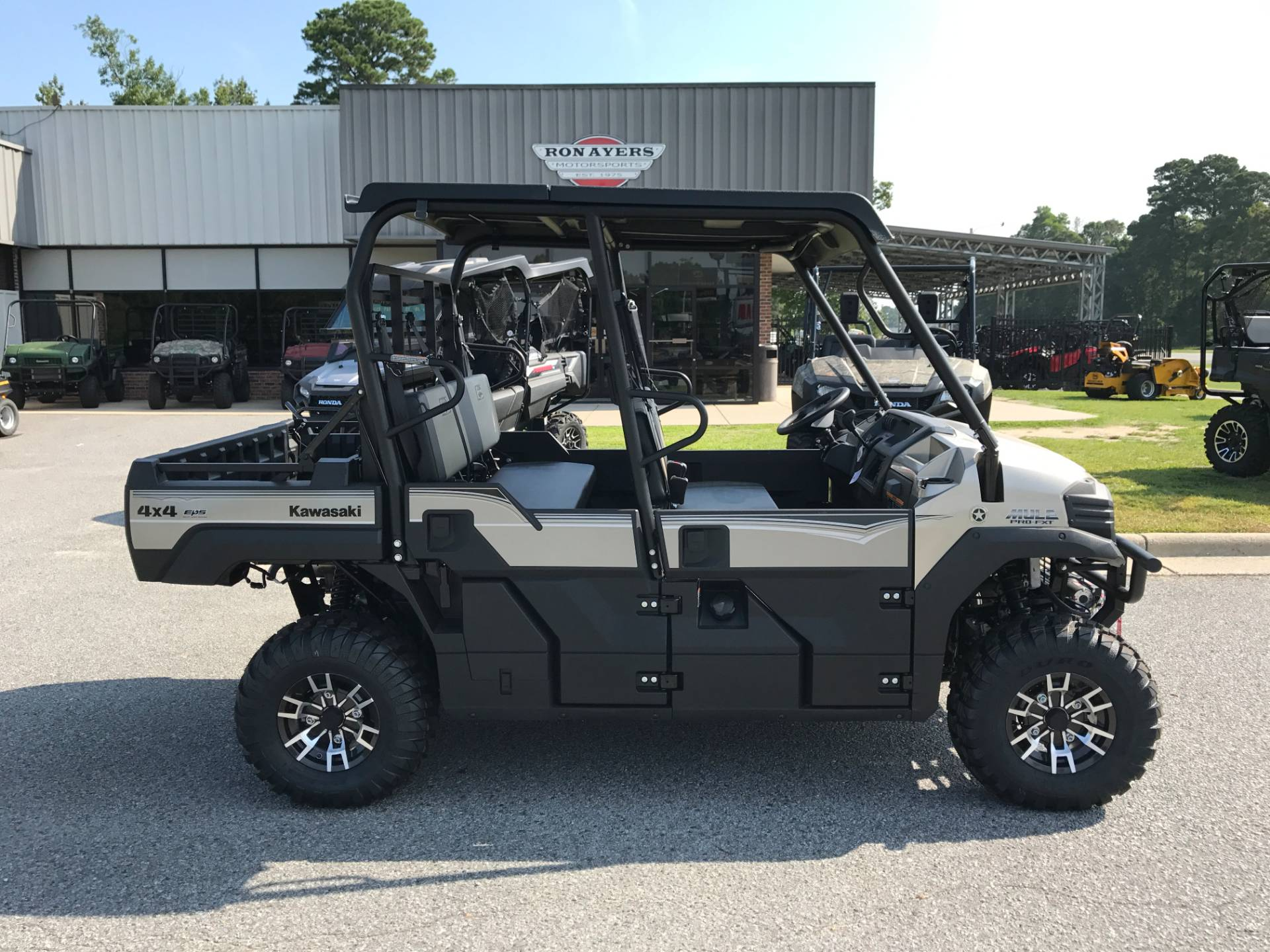 2018 Kawasaki Mule PRO-FXT RANCH EDITION in Greenville, North Carolina