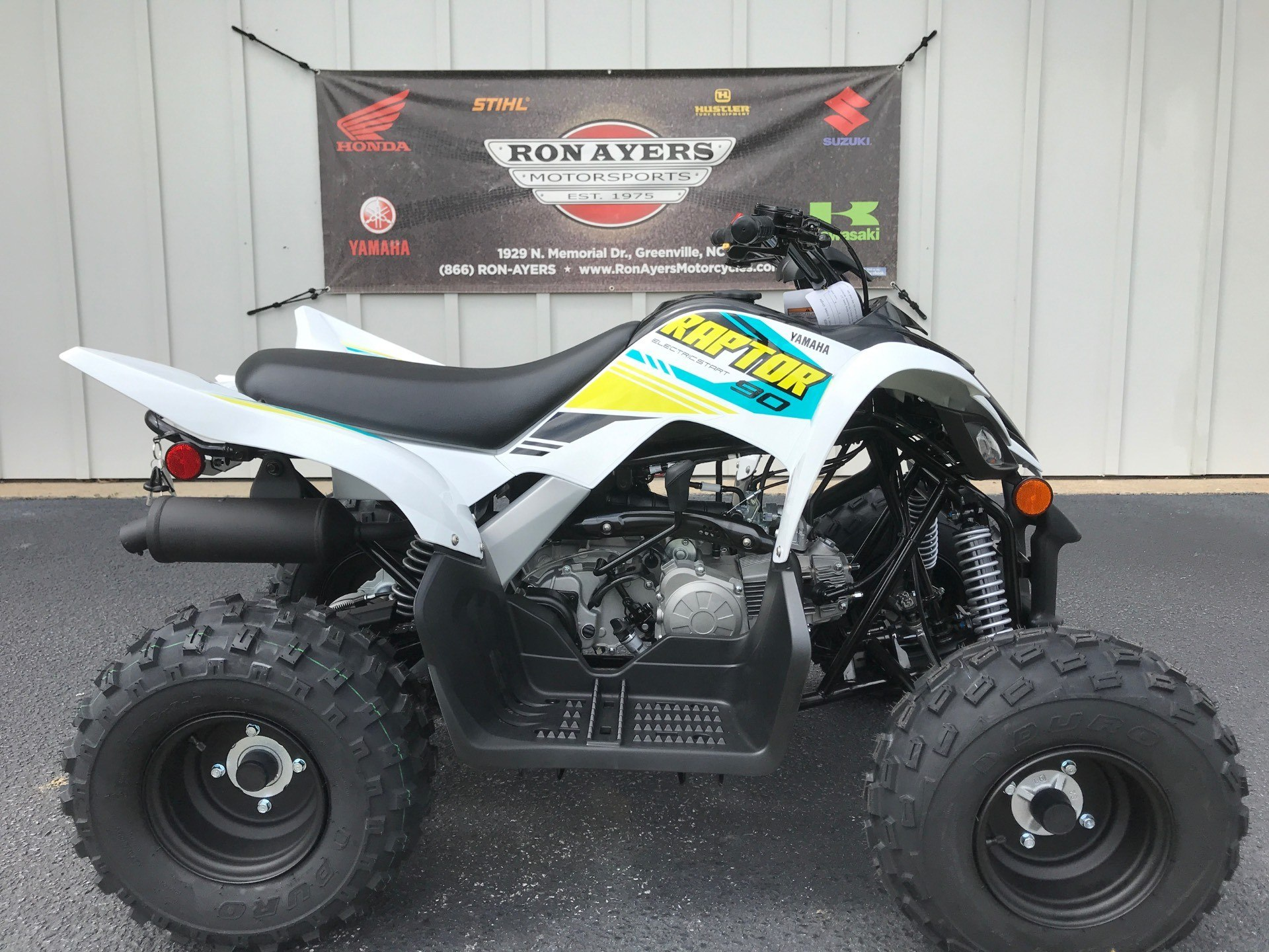2021 Yamaha Raptor 90 in Greenville, North Carolina - Photo 1