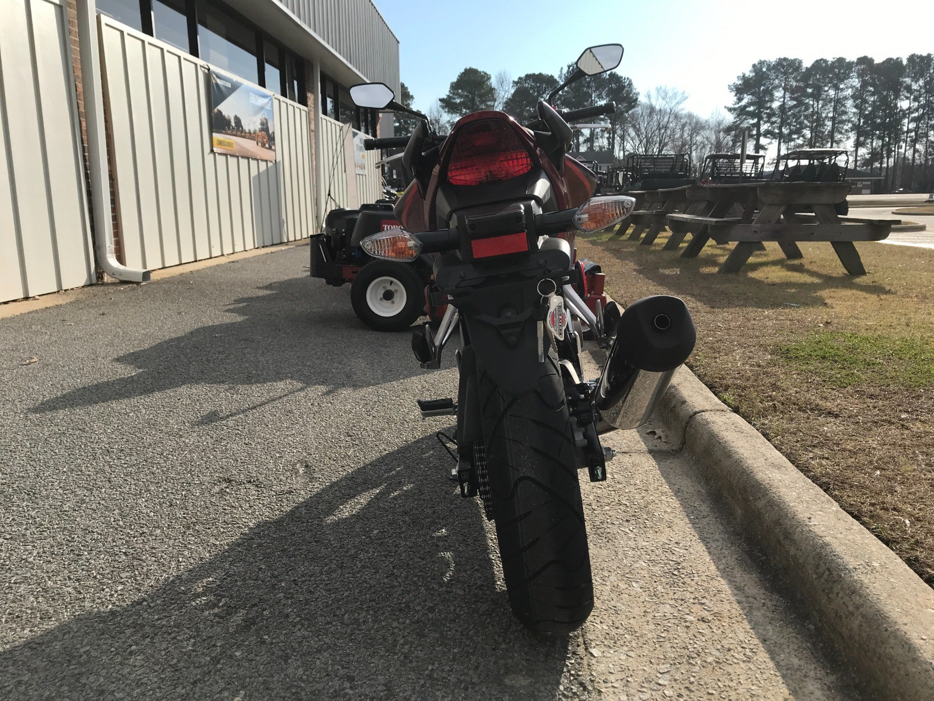 2018 Honda CB300F in Greenville, North Carolina