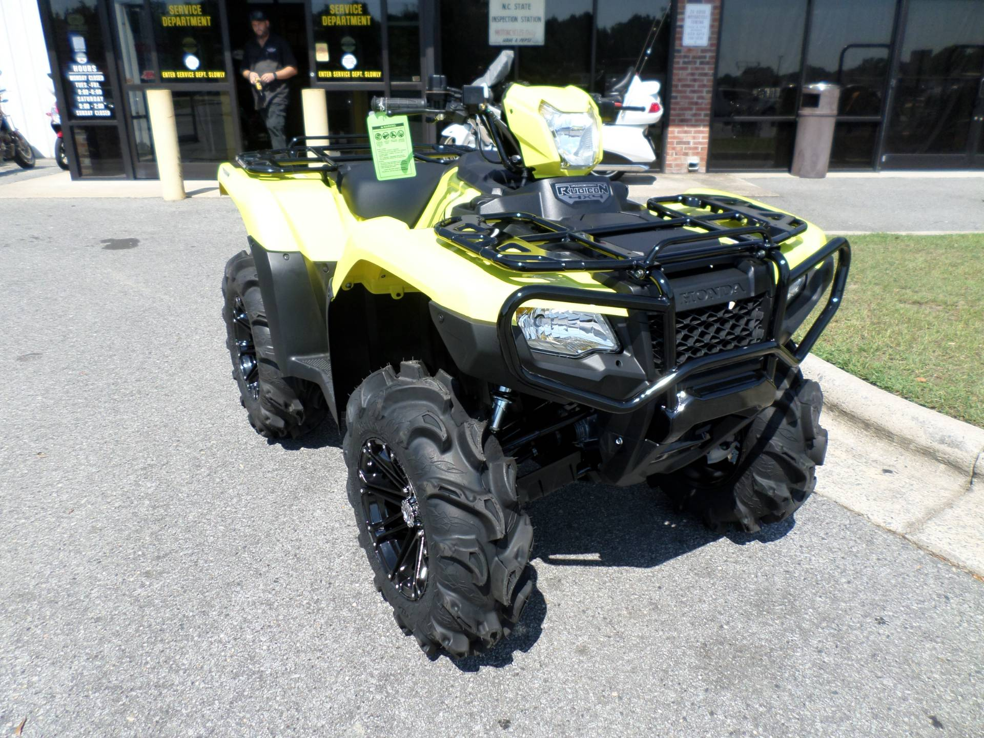 2017 Honda FourTrax Foreman Rubicon 4x4 EPS in Greenville, North Carolina