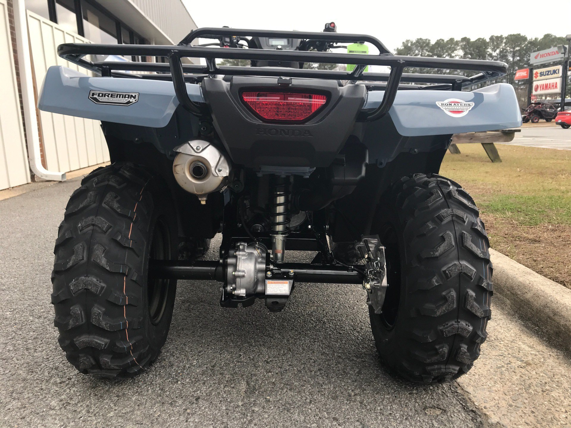 2018 Honda FourTrax Foreman 4x4 ES EPS in Greenville, North Carolina - Photo 10