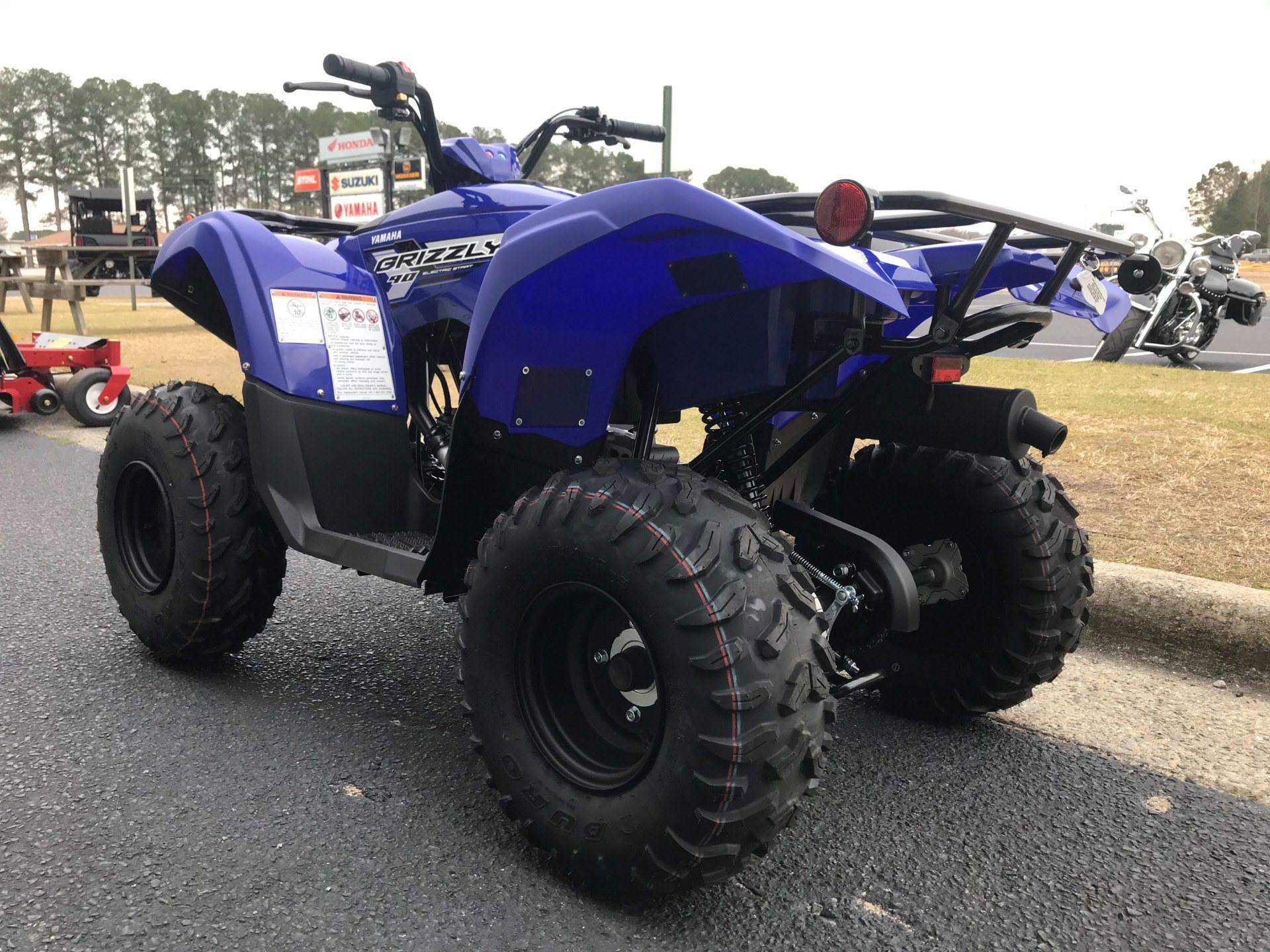 2019 Yamaha Grizzly 90 in Greenville, North Carolina - Photo 8